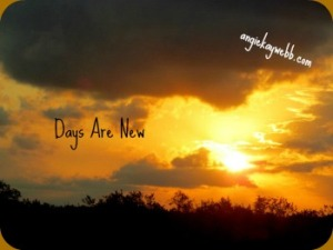 days are new